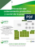 Upra Colombia Institucional 2015 Mayo