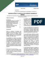 Subsidios Plenos y La Nueva Ley de Vivienda y Desarrollo Urbano-julio-no 38_0