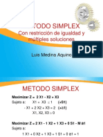 Metodo Simplex 2