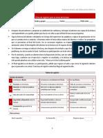 Ficha de Registro Para La Toma de Lectura y Producción de Textos