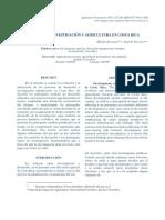 Desarrollo e Investigación de La Agricultura en Costa Rica