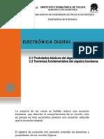Electronica Digital -Boole -Introduccion