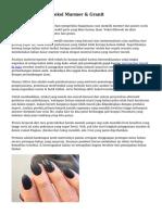 Trik Pintar Menyeleksi Marmer & Granit