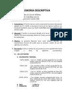 MEMORIA DESCRIPTIVA CAMBIO DE USO CHAPOÑAN CAJUSOL FELIPE Y MARIA FELIPA CHAPOÑAN VALQUI_modificado.docx