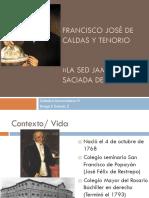 Unidad 3 Fco José de Caldas - Diego Efraín Gómez