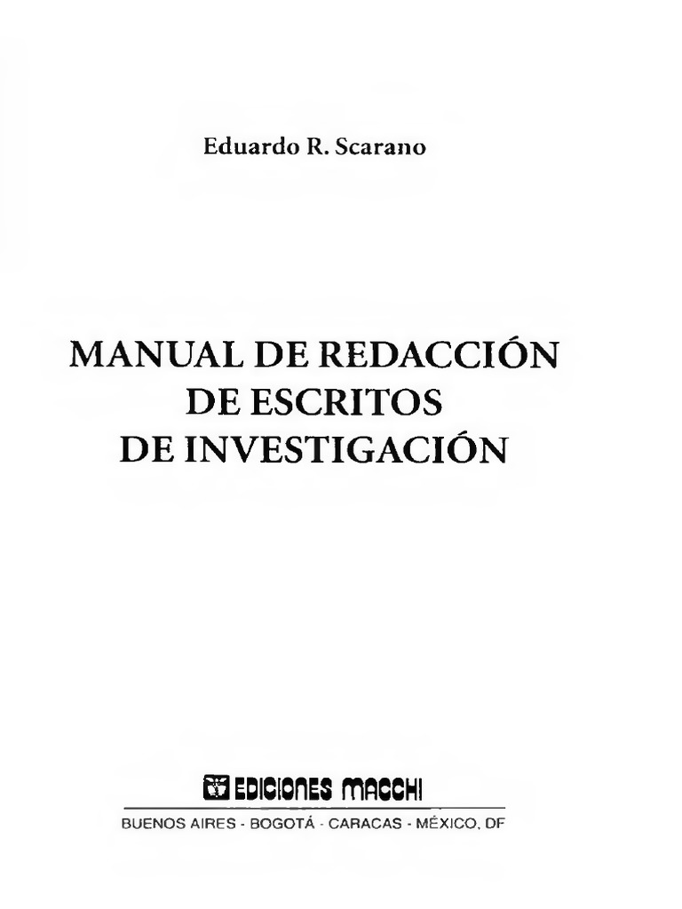 Scarano Eduardo S - Manual De Redaccion De Escritos De Investigacion.pdf