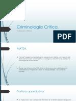 Criminología Critica