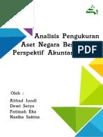 Analisis Pengukuran Aset Negara Berdasarkan Perspektif Akuntansi Sosial