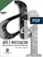 Arte e Investigación Revista CompletaA