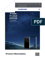 Samsung Galaxy S8 Trade-In Promo