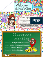hale taylor unit 1 classroom syllabus
