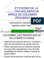 COMPETITIVIDAD INDUARROZ CONGRESO IBAGUE 2005.ppt