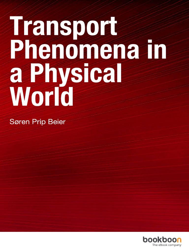 Transport Phenomena Bird Ebook
