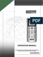 GS02 Remote Control