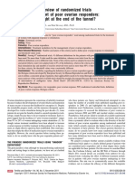 A Systematic Review of Randomized Trials