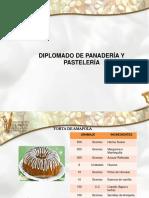 Diplomado de Panadería y Pastelería 2