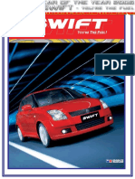 Project Report on Maruti Suzuki Swift