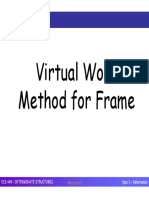 ECS448 - Topic 5 (Deformation - Virtual Work for Frame & Truss)