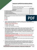 Evaluasi 5 Pengawas Sekolah Pembelajar