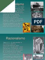 Racionalismo Expresionismo y Estructuralismo