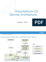 Documentum D2 Service Architecture