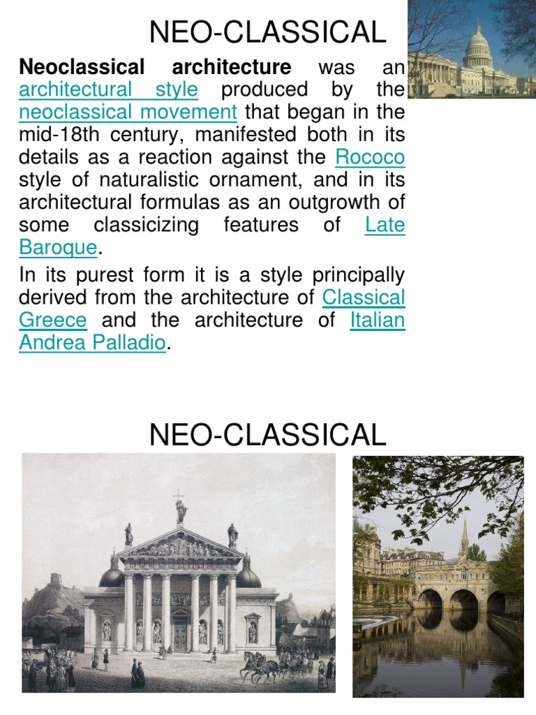 neo classical ppt