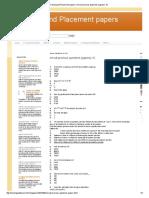 Previous pdf amcat papers