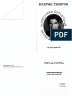 Deepak Chopra Vindecarea Sufletului de Frica Si Suferinta PDF