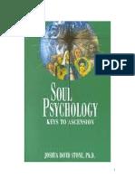 Joshua David Stone Soul Psychology Keys to Ascension