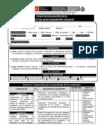 Peru Indicadores de Evaluacion Del Profesorado 2013