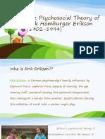 The Psychosocial Theory of Erik Erikson