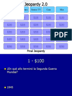 Jeopardy Cultural Template PPT