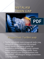 11) Instalasi Turbin Uap