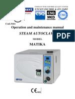 Reverberi Matika - Service Manual