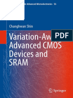 (Springer Series in Advanced Microelectronics 56) Changhwan Shin (Auth.)-Variation-Aware Advanced CMOS Devices and SRAM-Springer Netherlands (2016)