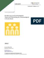 Estadísticas Alemania 2012