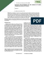 Advanced Ms Methods for Conform Integ