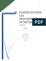 Planificación de Los Requerimientos de Materiales o MRP