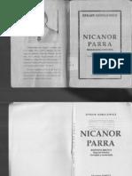 Efrain Szmulewicz - Nicanor Parra