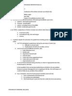 Assesment Module 1.1 Sunshines