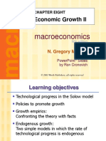 Mankiw Chapter 8 Growth II