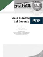 Matemática 4º Medio-Guía Didáctica Del Docente