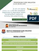 MS Excel Pengurusan Markah pelajar