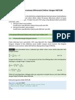 01 Penyelesaian Persamaan Diferensial Ordiner dengan MATLAB.docx