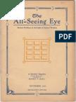 Hall, Manly P. - The All-Seeing Eye Nov. 1923 Vol.2 Nr.1