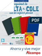 "folleto alcampo ""vuelta al cole"""