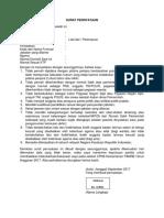 Surat Pernyataan Cpns Kementerian Panrb 2017