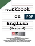 Workbook English Grade 6