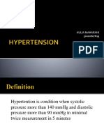 Presentation of Hypertention