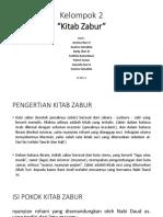 Tugas Agama Kitab Zabur Dhila Xi Ips